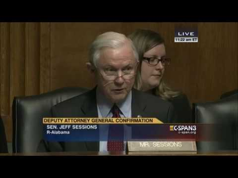 From 2015: Sen. Sessions questions Sally Yates (C-SPAN)