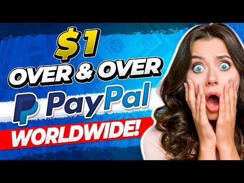🔥 Earn $1 Over and Over FREE Paypal Money! (WORLDWIDE) Make Money Online!