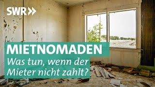 Miet-Nomaden: Wohnung besetzt, keine Miete – keine Chance?