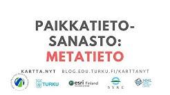 Mitä on metatieto?