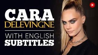 ENGLISH SPEECH | CARA DELEVINGNE: Battling Depression (English Subtitles)