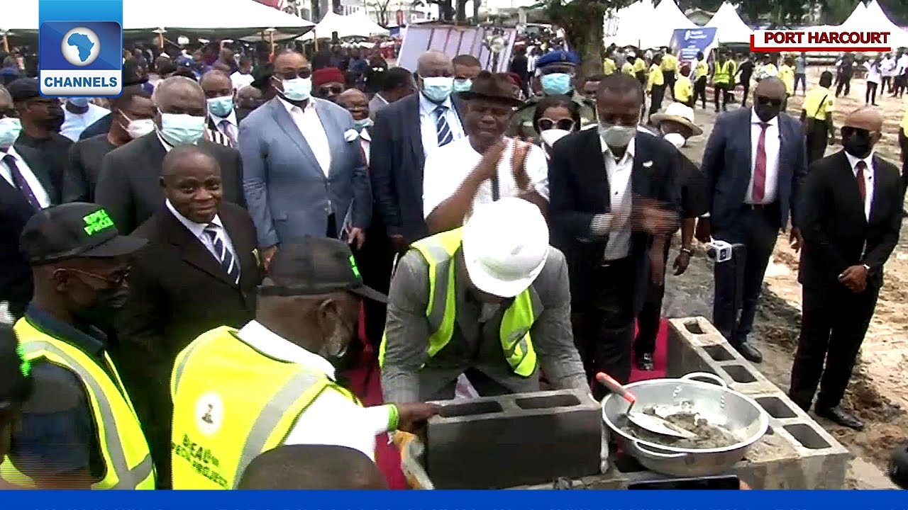 Gov Wike Flags Off Construction Of Nigerian Law School, Port Harcourt Campus  - YouTube