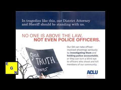 ACLU Mailer - Sacramento County District Attorney Election June 2018