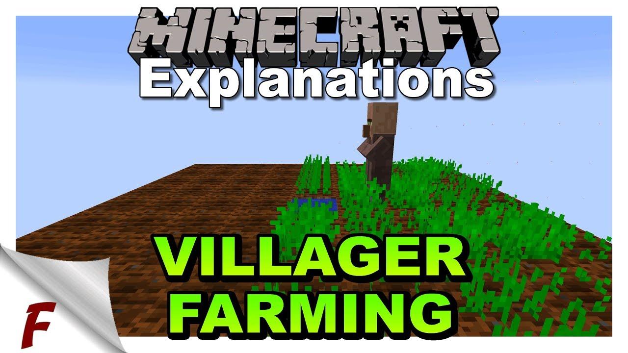 Why Wont My Farmer Farm Minecraft Villager Farming Mechanics Explained Java 1 13 Youtube