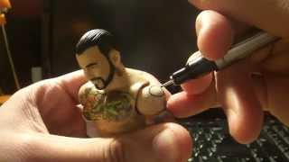 DGDX Real Customs #3 : Drawing CM Punk Tattoos *HD*