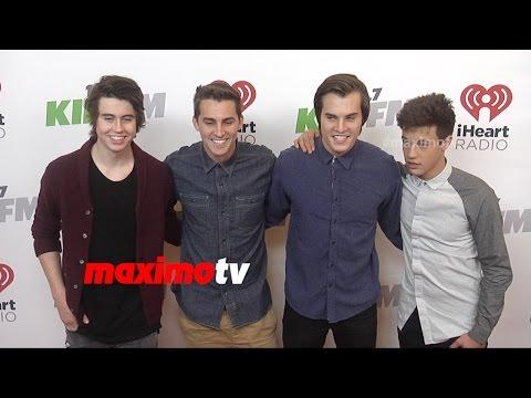 Nash Grier, Cody Johns, Marcus Johns, Cameron Dallas | KIIS FM