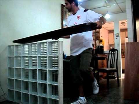 Construir un desayunador youtube for Barras para bar rusticas