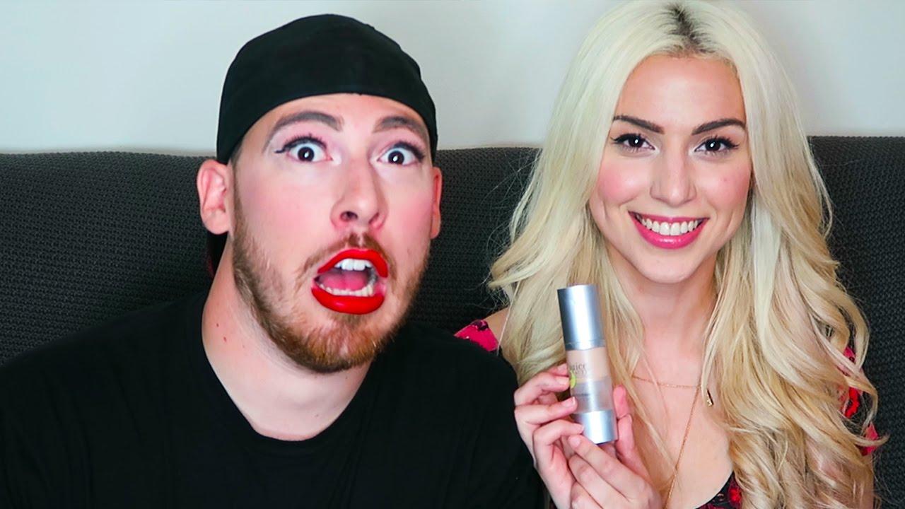 Maquillaje Desafío Bf Vs Gf Challenge - Youtube-3880
