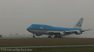 spray takeoff kl871 klm b747 cpt eelco niemeijer