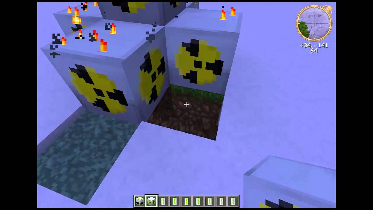 Minecraft Взрыв Ядерного реактора! как взорвать ядерный ...
