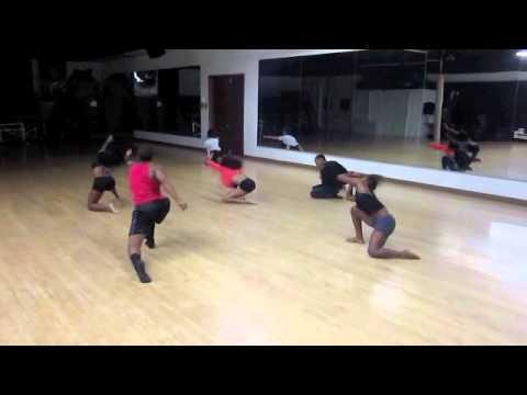 Tyrell Rolle - Modern Jazz class Vertel Motions