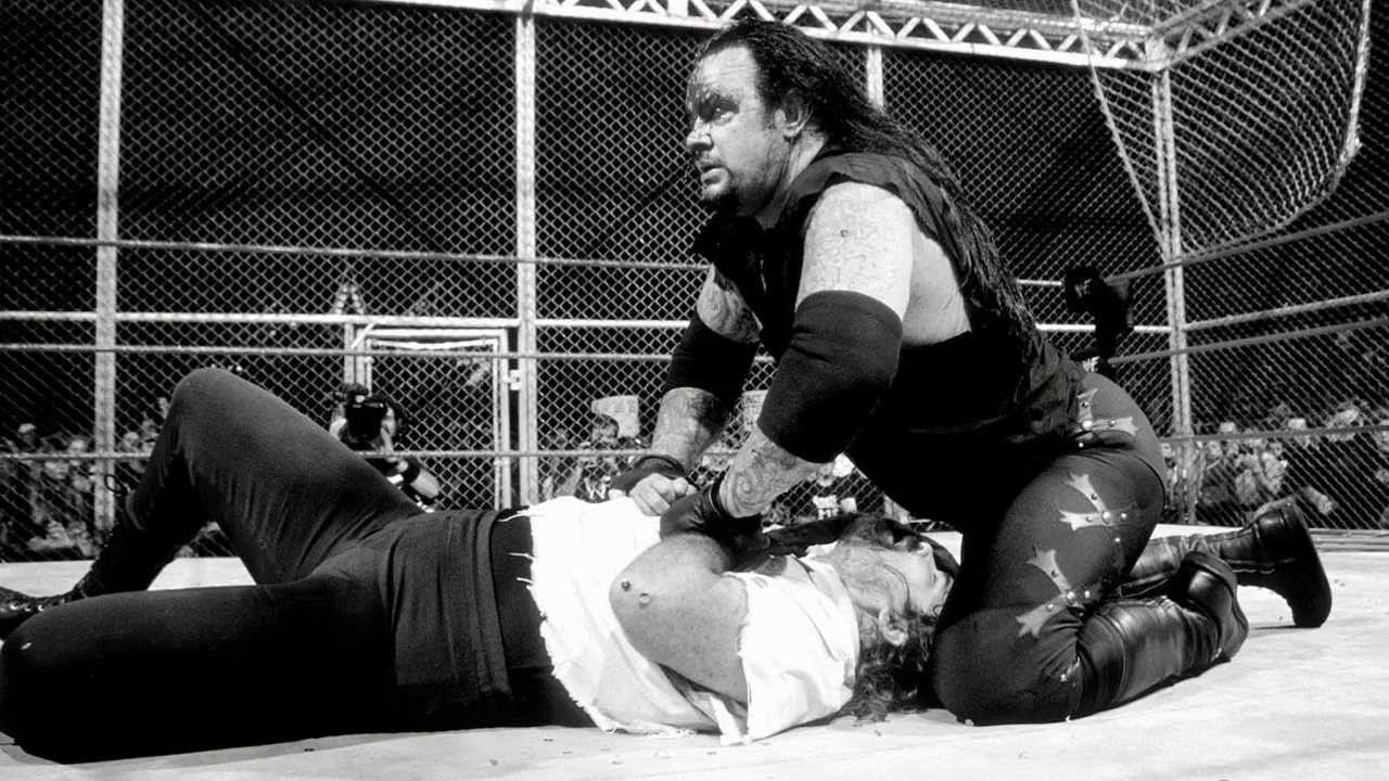 Undertaker Mankind King Of The Ring