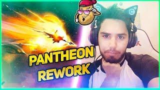 IMMORTORU YENİLENEN PANTHEON'U OYNUYOR! (PANTHEON REWORK) | LoL Maç Özetleri #923