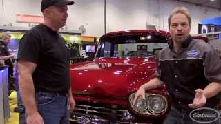 Amazing 1958 Chevy Cameo Concept Pickup Truck at SEMA from TC Penick & Eastwood