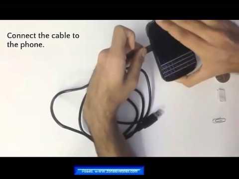Napunite telefon bez struje