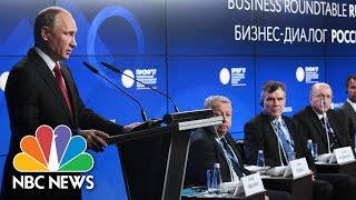megyn kelly moderates key session of st petersburg international economic forum nbc news
