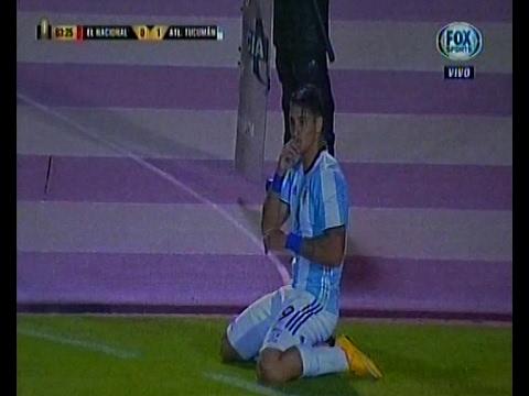 Con un gol de Z... Atletico Tucuman