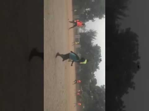 Hasino during training....sport supply football club Bauchi,