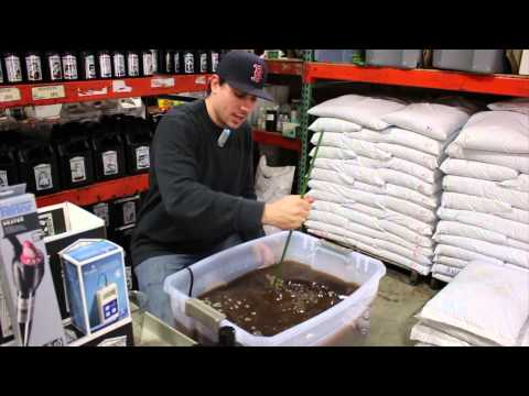 Organic Nutrient Mixing 101 | Hydroponic Reservoir Management | Grow Room Tank Mixing Organics