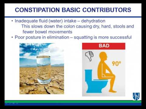 Nutritional Strategies For Constipation