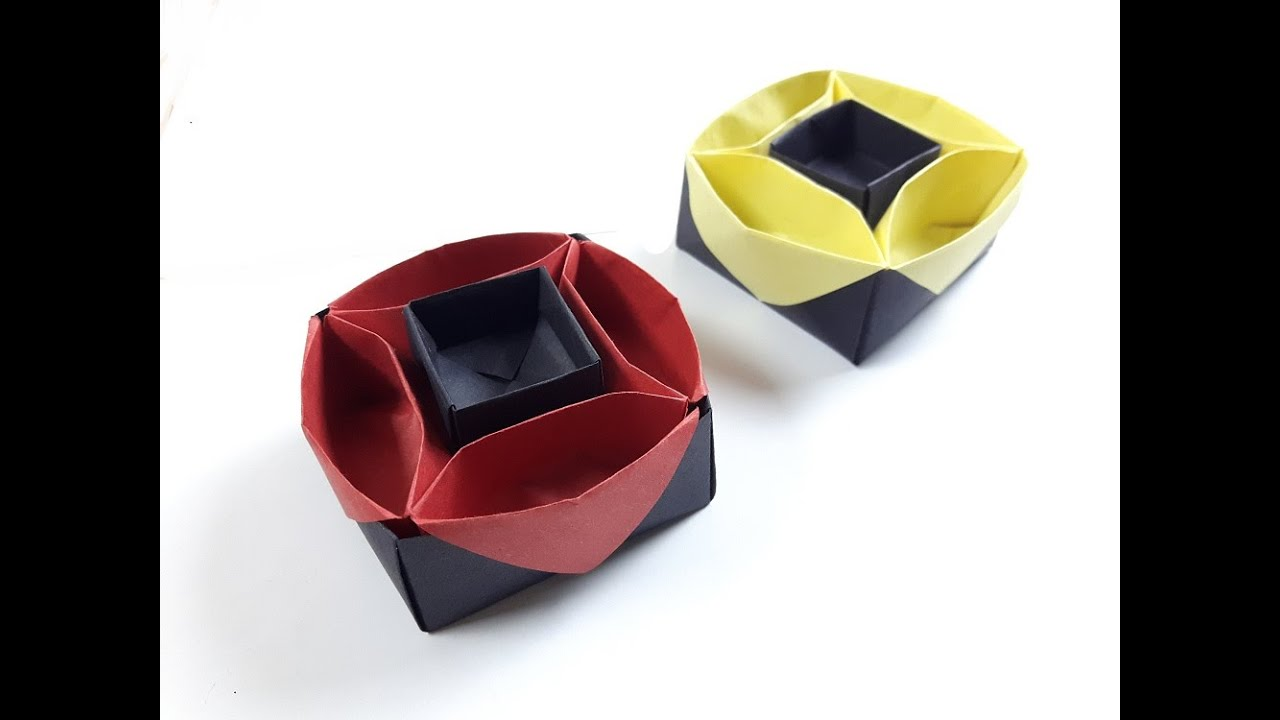 How To Make A Paper Box New Design