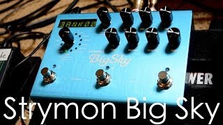 Strymon BigSky Reverberator - First look