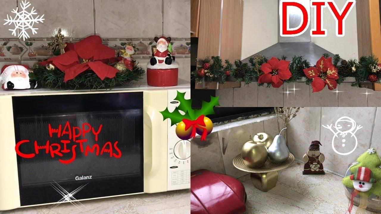 Ideas para decorar tu cocina en navidad decoracion for Decoracion artesanal para el hogar
