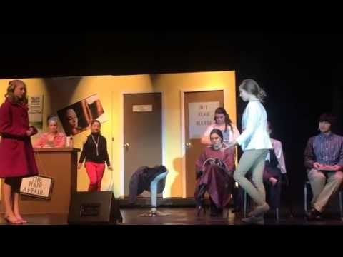 Legally Blonde Jr. performed by the Williamsport Area Middle School