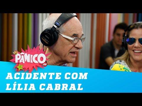 Caruso lembra acidente com Lília Cabral em cena