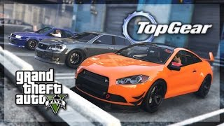 GTA 5 Online - (Top Gear Edition) Street/Tuner Cars Challenge!