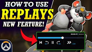 How to Use Replays in Overwatch - NEW Replay Feature!