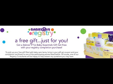 Babies R Us Canada is the best place for baby registries in Canada. Fast, FREE shipping* on most baby products when you spend $49 or more, or FREE in-store pick up in 1 .
