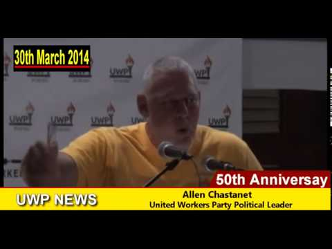 Allen Chastanet - 50th Anniversary Rally Speech