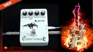 JOYO Classic Flanger Guitar Effects Pedal JF-07.mp4