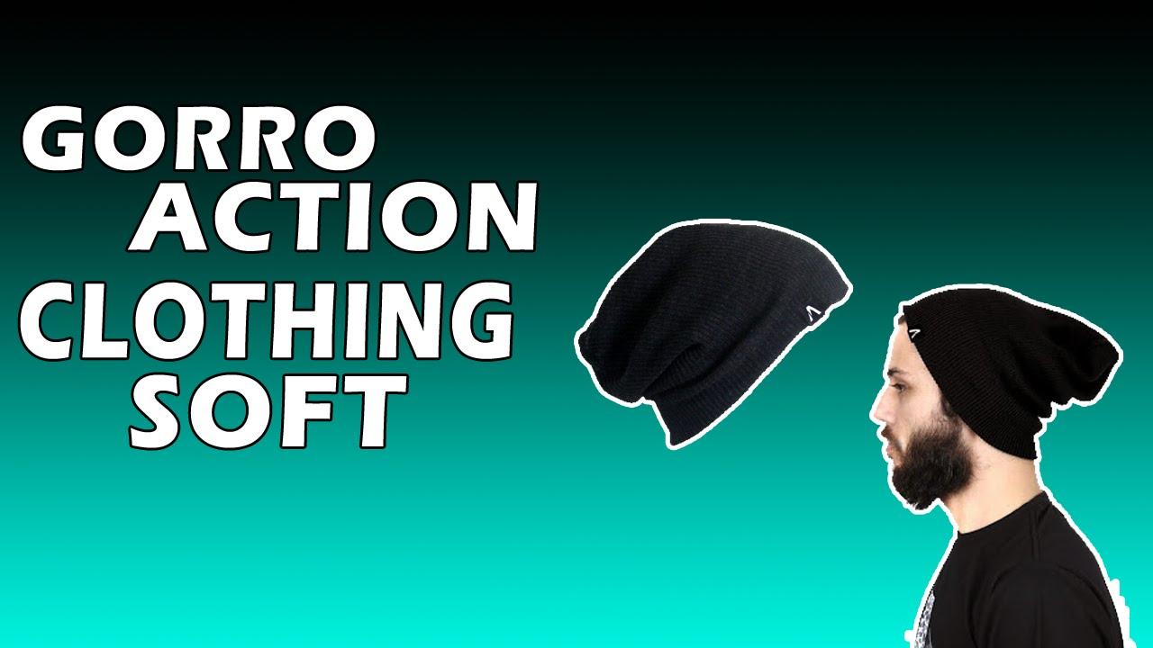 ce5fa634273cd Unboxing Gorro Action Clothing Soft - Kanui  2 - YouTube