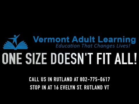 Vermont Adult Learning Promo Video