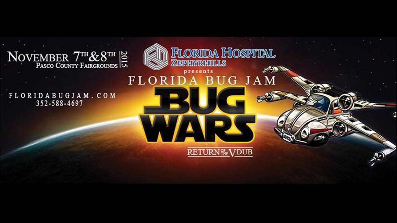 Florida Bug Jam | Bug Wars | 2015 Volkswagen Show