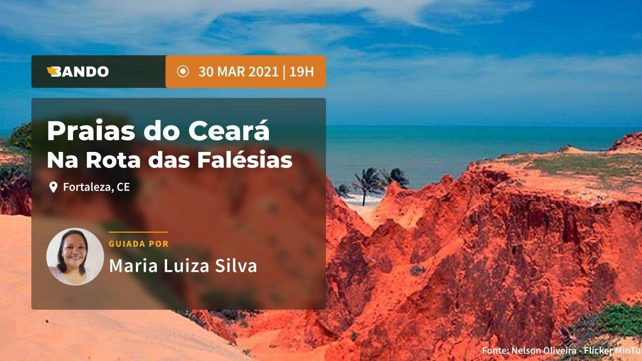 Praias do Ceará: na Rotas das Falésias - Experiência guiada online - Guia Maria Luiza