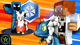 We Battle at the Snowflake Gym - Minecraft - Pixelmon (Part 2)