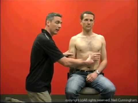 Kocher's method of relocating a dislocated shoulder