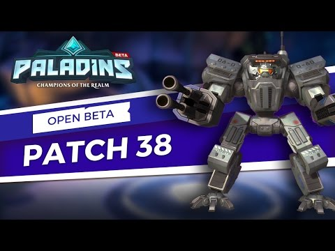 Paladins - Open Beta 38 Patch Overview