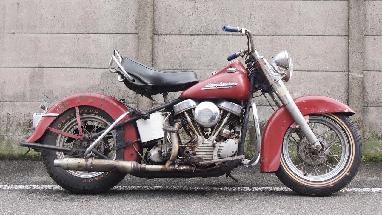 1951 El Harley Davidson Panhead Youtube