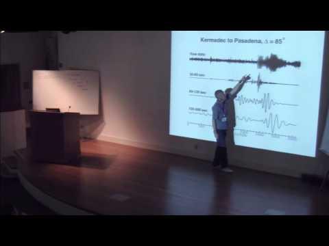 General Seismology by Goran Ekstrom