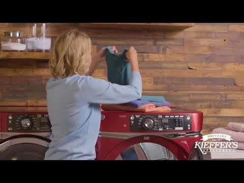 GE RightHeight™ Design Washer and Dryer