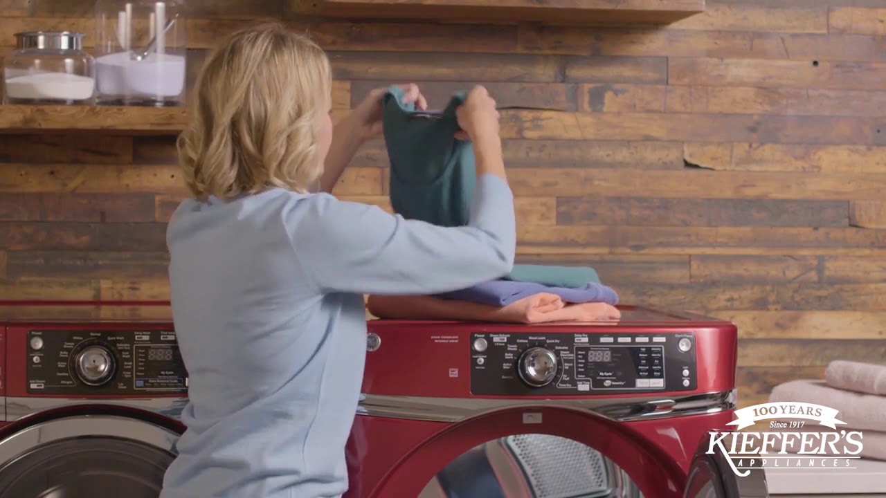 Ge Rightheight Design Washer And Dryer
