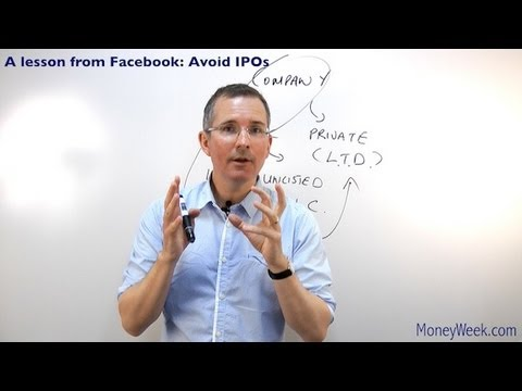 A lesson from Facebook -- avoid IPOs - MoneyWeek Investment Tutorials
