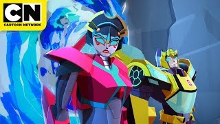 Finding the Allspark | Transformers Cyberverse | Cartoon Network
