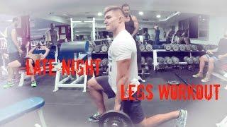 Late Night Legs Workout | PR_Fitness