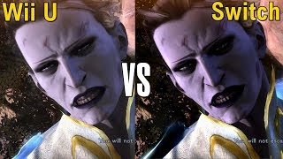 Bayonetta 2 Graphics Comparison (Nintendo Wii U vs Nintendo Switch)