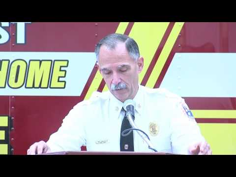 Prince George's County Fire Chief Marc S. Bashoor Retires 1
